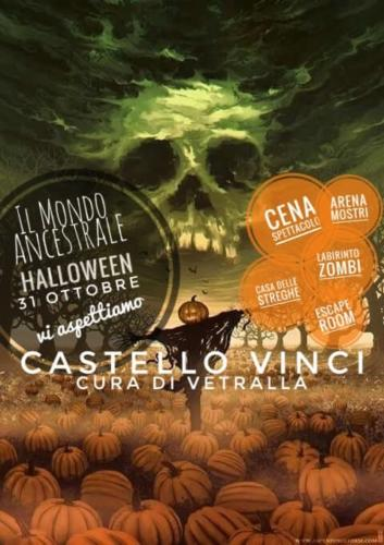 Il Mondo Ancestrale Halloween 2018 al Castello Vinci di Vetralla (VT)